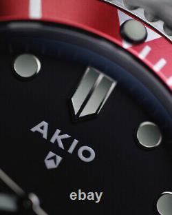 AKIO Turtle Automatic Divers Watch, NH35 Seiko Movement