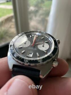 Autavia Heuer Cal 11 Viceroy 1163 Automatic SERVICED 1 own. Vintage chronograph