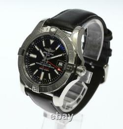 BREITLING Avenger II GMT A32390 Black Dial Automatic Men's Watch 594566