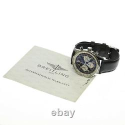 BREITLING Navitimer A30021 Chronograph black Dial Automatic Men's Watch 618925