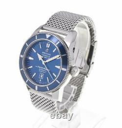 BREITLING Super Ocean Heritage A17320 blue Dial Automatic Men's Watch T#105185