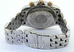 Breitling Chronomat Evolution B13356 SS/18K automatic chronograph men's watch