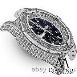Breitling Super Avenger Black A13370 Automatic Watch Diamond Case NWT Bracelet