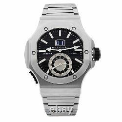 Bvlgari Endurer Chronosprint Daniel Roth Black Dial Automatic Mens Watch 101877