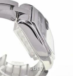 CARTIER Roadster LM stainless steel Silver Dial Automatic Men's Watch O#103897