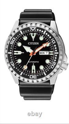 CITIZEN Men's Diver Automatic NH8380-15E Sport Watch 100m Rubber Band NH8380