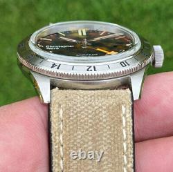 Christopher Ward C65 GMT Automatic Dive Watch Steel Bezel 41mm
