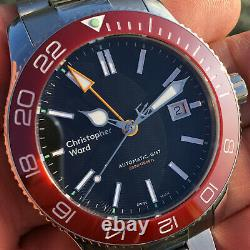 Christopher Ward Trident Pro GMT 600 Mk2 Automatic Divers Watch 43mm