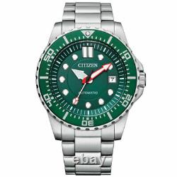 Citizen Men's Promaster Automatic Stainless Steel Watch NJ0129-87X NEW