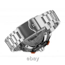 EDOX 08005 3NOM NOO Men's Chronorally-S Black Automatic Watch