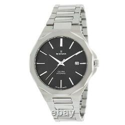 EDOX 80117 3M NIN Men's Delfin Black Automatic Watch