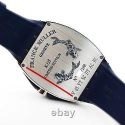 Franck Muller Automatic Vanguard KOI Wristwatch V45 YT SC DT AC BL Limited