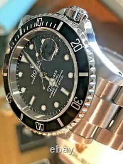 Gents Rolex Oyster Perpetual Submariner Date Stainless Steel 16610 mint