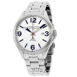 Hamilton H76525151 Men's Khaki Aviation Air Race Silver Automatic Watch
