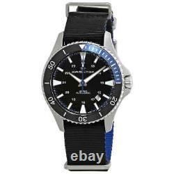 Hamilton Khaki Scuba Automatic Black Dial Batman Bezel Men's Watch H82315931
