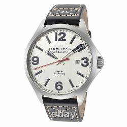 Hamilton Men's Khaki Aviation H76525751 42mm Silver Dial Automatic Watch