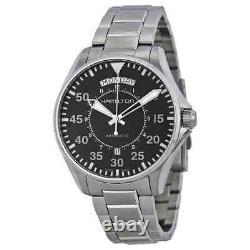Hamilton Pilot Day Date Automatic Black Dial Men's Watch H64615135