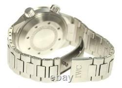 IWC Aqua timer IW354805 Black Dial Automatic Men's Watch 559706