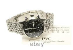 IWC Pilot Watch Flieger IW370607 Chronograph black Dial Automatic Men's 568607
