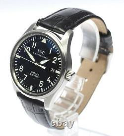 IWC Pilot's Watch Mark XVI IW325501 Black Dial Automatic Men's Watch 490784