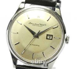 IWC Schaffhausen antique Silver Dial Automatic Men's Watch 560856