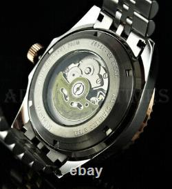 Invicta 45mm Pro Diver ROOT BEER Automatic METEORITE Dial Two Tone SS Watch NEW