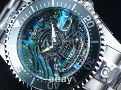 Invicta 47mm Men's 300m Ltd. Ed. Grand Diver Automatic MOP Abalone Dial SS Watch