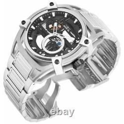 Invicta Men's Watch Akula Automatic Skeleton Dial Silver Tone Bracelet 32360