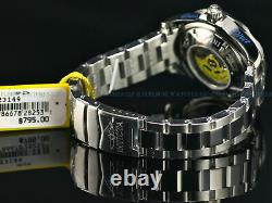 Invicta Mens 47mm POLICE Grand Diver NH35 Automatic Carbon Fiber Dial 300m Watch