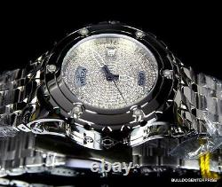 Invicta Specialty Subaqua 44mm Automatic 1.8CTW Diamond Polished Steel Watch New