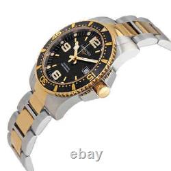 Longines Hydroconquest Automatic Black Dial 41mm Men's Watch L37423567