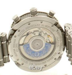 Men's MONTEGA GENEVE MC01 R9 Stainless Steel Chrono Automatic 3475 limited