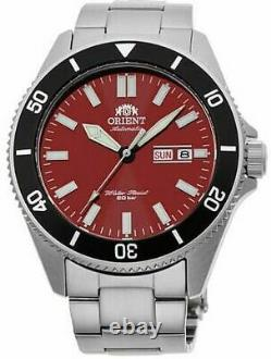 Men's Orient Kanno Diver Automatic Red Dial Watch RA-AA0915R19B
