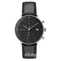NEW Junghans Max Bill Chronoscope Men's Automatic Watch 027/4601.04
