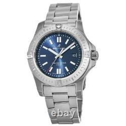 New Breitling Colt 44 Automatic Blue Dial Steel Men's Watch A17388101C1A1