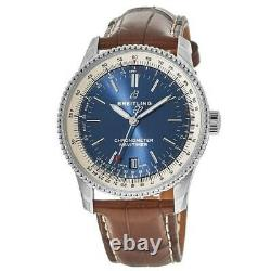 New Breitling Navitimer 1 Automatic 38 Blue Dial Men's Watch A17325211C1P2