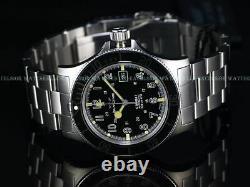 New Glycine 42mm Combat Sub Swiss Automatic Sapphire Diver Watch, Gl0076, 3908
