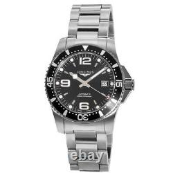 New Longines HydroConquest Automatic 41mm Black Dial Men's Watch L3.742.4.56.6