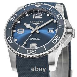 New Longines HydroConquest Automatic Blue Dial Men's Watch L3.781.4.96.9