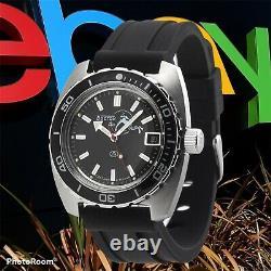 New Mens Automatic Watch Vostok Amphibian 170600 Black Dial Scuba diver 200 m