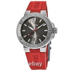New Oris Aquis Date Automatic Grey Men's Watch 01 733 7730 4153-07 4 24 66EB