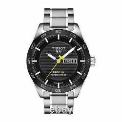 New Tissot PRS 516 Automatic Day-Date Black Men's Watch T100.430.11.051.00