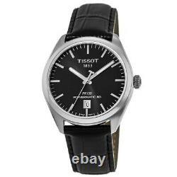 New Tissot PR 100 Powermatic Automatic Black Men's Watch T101.407.16.051.00