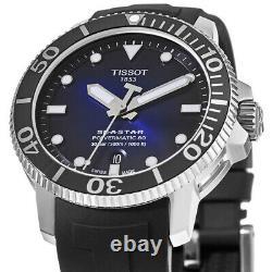 New Tissot Seastar 1000 Automatic Blue Dial Men's Watch T120.407.17.041.00