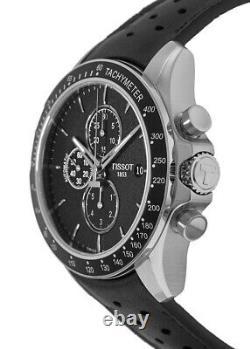 New Tissot V8 Automatic Black Chronograph Dial Men's Watch T106.427.16.051.00