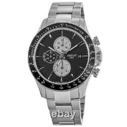 New Tissot V8 Black Automatic Chronograph Dial Men's Watch T106.427.11.051.00