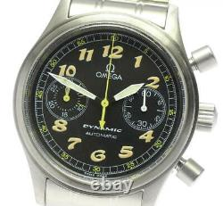 OMEGA Dynamic 5240.50 Chronograph black Dial Automatic Men's Watch 599016