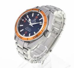 OMEGA Seamaster Plat Net Ocean 2208.50 black Dial Automatic Men's Watch C#102272