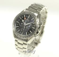 OMEGA Speedmaster Broad Arrow 3581.50 Co-Axial GMT Automatic Men's Watch 542553