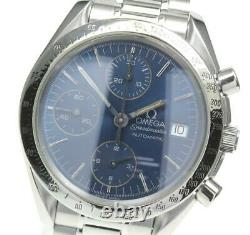 OMEGA Speedmaster Date 3511.80 Blue Dial Automatic Men's Watch 573379